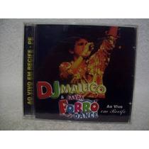 Cd Dj Maluco E Banda Forró Dance (novo)