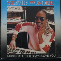 Stevie Wonder - I Just Called To Say I L Compacto Vinil Raro