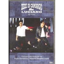 Dvd Zeze Di Camargo E Luciano - Ao Vivo -com Paula Fernandes