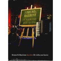 Bruno & Marrone De Volta Aos Bares Ao Vivo Dvd Lacrado