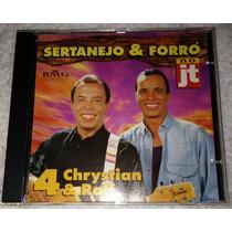 Cd Chrystian & Ralf Sertanejo E Forró Coletânea Confidências