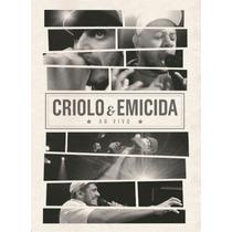 Dvd Criolo & Emicida Show Ao Vivo Part Mano Brow