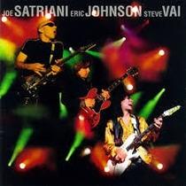 Cd G3 Live In Concert Satriani Johnson Vai! Novo! Melhor