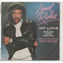 Compacto Vinil Lionel Richie - My Love - 1983 - Motown