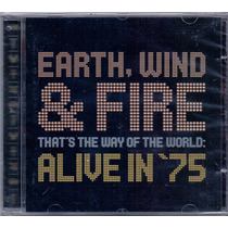 Cd Earth, Wind & Fire - That´s The Way Of The World: Alive