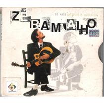 Cd Duplo Zé Ramalho 20 Anos Antologia Acústica