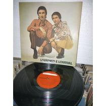Lourenço E Lorival Lp Raro 1973