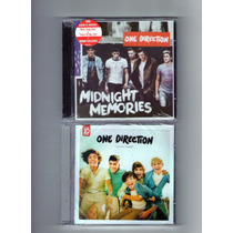 2 Cds - One Direction ( Midnight Memories + Up All Night ) .