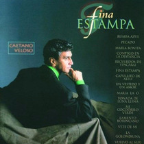 Cd Lacrado Caetano Veloso Fina Estampa 1994
