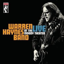 Warren Haynes Live At The Moody Theater 2cds E Um Dvd Import