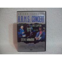 Dvd A.r.m.s. Concert- Volume 1- Steve Winwood, Eric Clapton