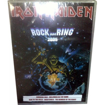 Dvd Iron Maiden Lacrado = Live Rock Am Ring 2005 Ao Vivo !