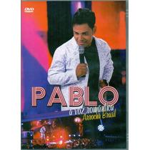 Dvd Pablo - A Voz Romântica - Arrocha Brasil - Novo***