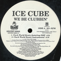 Ice Cube We Be Clubbin 12 Mix Importado 1998 Promo Novo