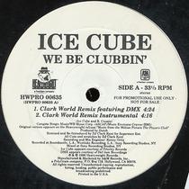 Ice Cube We Be Clubbin 12 Mix Importado 1998 Promo Novo