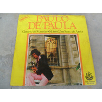 Paulo De Paula - Quarto De Mansão Compacto Vinil Brega