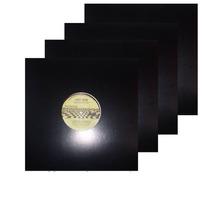 Capa Para Disco De Vinil Lps Djs 12 Polegada (10 Unid) Preta