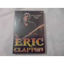 Dvd - Eric Clapton Live Tokio Japan 1988