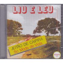 Liu E Leu - Cd Jeitão Caipira - Só Moda De Viola Vol 2