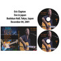 Dvd Eric Clapton - Live In Japan 2001
