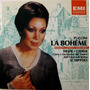 Cd Giacomo Puccini - La Boheme - Gedda - Freni - Schippers