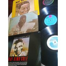 03 Discos Vinil Lp Nat King Cole 1971 1982 1992
