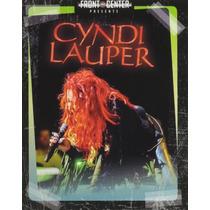Blu-ray Front & Center Cyndi Lauper =import= Novo Lacrado