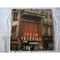 Julio Iglesias-lp-vinil-en El Olympia-importado