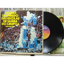 Sambas Enrêdo Escolas Samba Grupo1 Carnaval 1976 Lp Top Tape