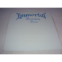 Immortal Vinil Azul-bathory-burzum-venom-marduk-sepultura