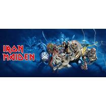 Iron Maiden - Dvd/cd Com Discografia Completa + Raridades