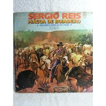 Lp Sertanejo: Sergio Reis - Mágoa De Boiadeiro - Fr. Grátis