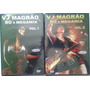 2 Dvds Vj Magrão 80´s Megamix Vol.1 E Vol.2 (lacrados)