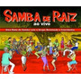 Box Samba De Raiz Ao Vivo - 3 Cds - Novo E Lacrado