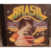 Brasil Ritmo E Samba Vol. 2 ( Cd ) Coletânea Nacional