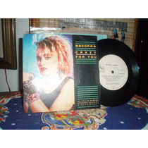 Madonna Journey Crazy For You Compacto Geffen - Ano: 1985