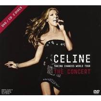 Dion Celine Taking Chances World Tour The Con Cd + Dvd Novo