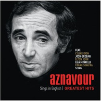 Cd Aznavour Sings In English - Greatest Hits*lacrado