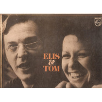 Vinil Lp - Elis Regina & Tom Jobim - 1974 - Capa Dupla