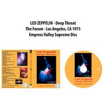 Dvd Led Zeppelin - Deep Throat 1975