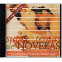 Cd Super Temas De Novelas - Internacional - Vol 2 - 1995