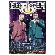 Dvd Gigantes Do Samba Spc E Raça Negra Ao Vivo Novo Nfe