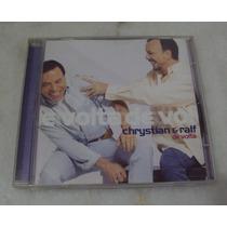 Cd Chrystian E Ralf - De Volta (p) 2001 - Raro - Raríssimo