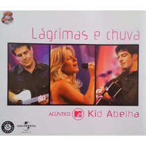 Cd Single Kid Abelha - Lágrimas E Chuva - Mtv Acustico
