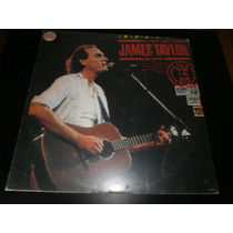 Lp James Taylor Live In Rio, Ano 1986 - Vinil Seminovo Raro