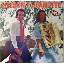 Vinil / Lp - Nelson E Jeanette - Encontro Feliz