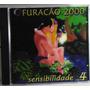 Funk Black Romântico Cd Furacão 2000 Sensibilidade Vol 4