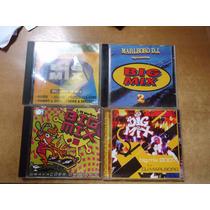 Cd Coleção Big Mix Vol 1 2 3 4 Dj Marlboro
