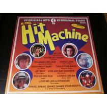 Lp Hit Machine, 20 Original Hits, Disco Vinil, Ano 1976
