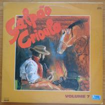 Galpão Crioulo Vol. 7 Lp Nacional Usado Vários Artistas 1990